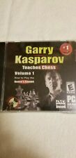 Garry Kasparov Teaches Chess Volume 1 Arguably The Greatest Player of All Time