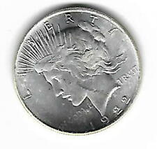 Two Face Harvey Dent 1922 Peace Dollar Coin The Dark Knight