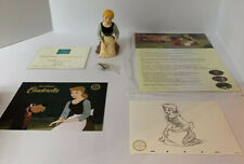 Walt Disney Collectable Cinderella Sculpture with art cell.