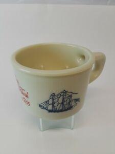 COLLECTABLE VINTAGE OLD SPICE SHAVING MUG SHIP GRAND TURK SALEM 1786 #42 SHULTON