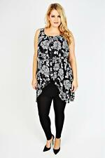 Unbranded Chiffon Floral Plus Size Dresses for Women