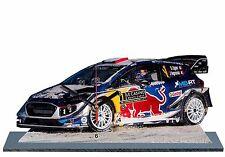 Sebastien OGIER, Rallye Monte Carlo 2017, Ford WRC, en horloge miniature 07