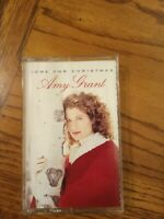Amy Grant Home For Christmas Cassette 1992 Holiday Music Free Shipping