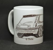 Renault 5 GT Turbo mug cup | classic car french rally f1 clio williams ragnotti