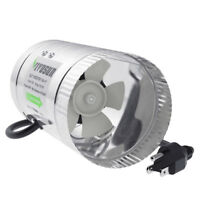 "VIVOSUN 4"" inch 100 CFM Inline Duct Booster Fan Exhaust Air Blower Cooling Vent"