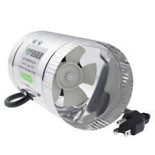 "VIVOSUN 4"" inch 100 CFM Inline Duct Booster Fan Exhaust Air Blower Cooling Vent"