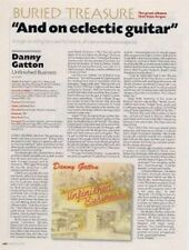 Danny Gatton Unfinished Business retrospective Article