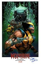 "WOLVERINE - WEAPON X Marvel Art Print by GREG LAND Signed 11""x17"""