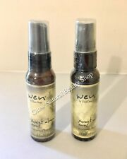 Wen Sweet Almond Mint Replenishing Treatment Mist 2 oz Hair Care Travel Size Duo