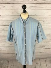 LACOSTE Shirt - Size Large - Striped - Short Sleeved - Great Condition