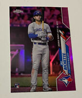 2020 Topps Chrome Update Bo Bichette PINK REFRACTOR ROOKIE RC Debut SP Nice 💎