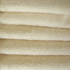 "1/6 yd VIS1 Buttercup INTERCAL 6mm ""Flat"" Med. Dense German Viscose Fur Fabric"