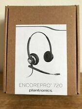 NEW Plantronics EncorePro 720 Office Phone Headset Encore Pro HW720 78714-102 UK