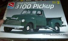 AMT Ertl 1950 Chevy 3100 Pickup Truck 1/25 Model Car Mountain KIT FS