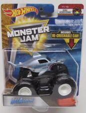 Hot Wheels Monster Jam Series- NEW MEGALODON  w/ Re-Crushable Car