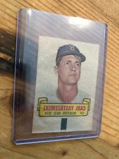 Vintage Decal Or Proof Carl Yastrzemski NM Boston Red Sox HOF Legend