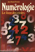 Livre ésotérisme  numérologie - le livre des cycles   book