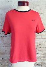Nike Women's Dri-Fit UV Red Work Out Top Shirt Size Medium 8-10