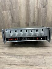 TEGAM 1011A Ratio Transformer Standard - 7 decade switches 1011A UNTESTED