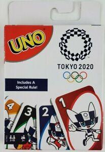 Tokyo 2020 UNO Card Game Mattel