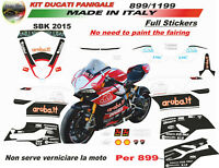 """Kit adesivi SBK aruba team Moto Ducati Panigale 899/959/1199/1299""""V279"""""""