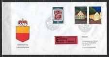 Liechtenstein M35 cover 1981 Buildings express delivery