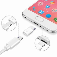 Micro USB to Type C Adapter Converter for Samsung S8 S9 Note 8 Sony Xz1 HTC