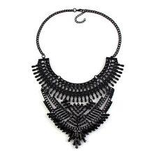 Black Style Handmade Personality Fashion Necklace&Pendant Maxi Statement
