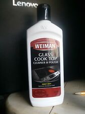 WEIMAN Glass Cook Top Cleaner & Polish - Heavy Duty 10 oz Bottle FAST SHIPPING