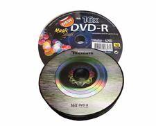10 Traxdata Di marca Magic D'ARGENTO DVD-R 16x Vuoti Dischi DVD 4.7 GB Ritek F01