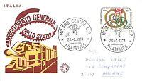 FDC Filagrano - Italia - Repubblica - 1973 - Provveditorato Generale Stato - NVG