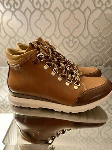 Pikolinos, Hiking Boots, Leather, Tan, Size 7/40, NEW