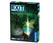 Exit The Forgotten Island Thames & Kosmos TAK 692858 Escape Room Card Game