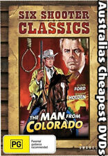The Man From Colorado DVD NEW, FREE POSTAGE WITHIN AUSTRALIA REGION 4