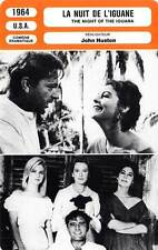 FICHE CINEMA : LA NUIT DE L IGUANE - Burton,Gardner 1964 The Night of the Iguana