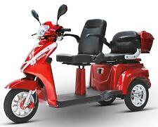 ECO ENGEL 503 Rot, Senioren Roller 25 km/h, Elektromobil, Elektroroller, E Trike