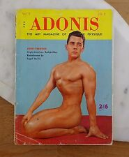 Vintage Adonis Magazine Male Physique Vol 2 No 2 Body Building Gay Interest