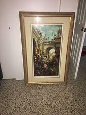 "Art Lithograph ""Triumphal Entry"" by Tom Dubois.  Jesus in Jerusalem Palm Sunday"