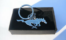 Wild Horse Keychain Chrome Metal Keychain Gift Boxed Brand New