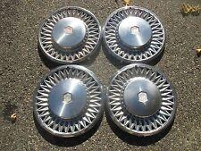 genuine 1978 to 1984 Chevy Malibu El Camino 14 inch hubcaps set factory