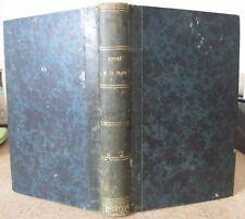 LOUIS DUBOIS HISTOIRE DE L'ABBAYE DE LA TRAPPE 1824 EO BOUTHILLIER DE RANCE