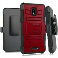 Holster Case For TCL A1 A501DL/ Alcatel INSIGHT Phone Cover SOLID BURGANDY