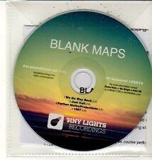 (DC869) Blank Maps, We Go Way Back (Debut EP) - 2012 DJ CD