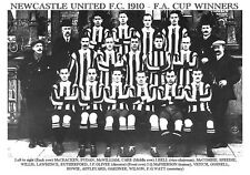 NEWCASTLE UNITED F.C 1910 - F.A.CUP WINNERS