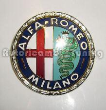FRIEZE FRONT ALFA ROMEO MILANO METAL ENAMELLED QUALITY ASI