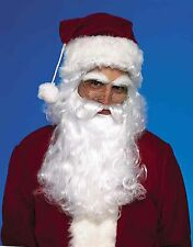 SANTA CLAUS WIG MOUSTACHE AND BEARD CHRISTMAS HOLIDAY ADULT COSTUME ACCESSORY
