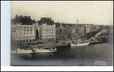 STOCKHOLM Sverige Brefkort ~1910/20 Strandvägen Schiffe