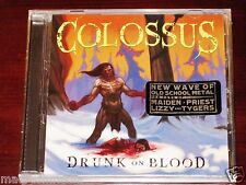 Colossus: Drunk On Blood EP CD 2010 Tribunal / Divebomb Records TRB106 NEW