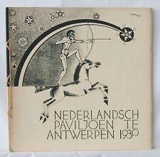 Wendingen art deco magazine 1930 no.3, Dutch Pavilion World Exibition Antwerp