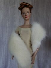 "AllforDoll MILK MINK Fur BOA WRAP for 16"" Tonner Tyler Sybarite Ficon Gene Dolls"